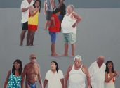 Tourism 2014 oil on canvas 180x140cm Kopie